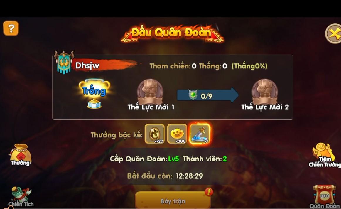 Toàn tập về Quân Đoàn Chiến, tính năng chiến khốc liệt nhất trong game Huấn Long VNG 8