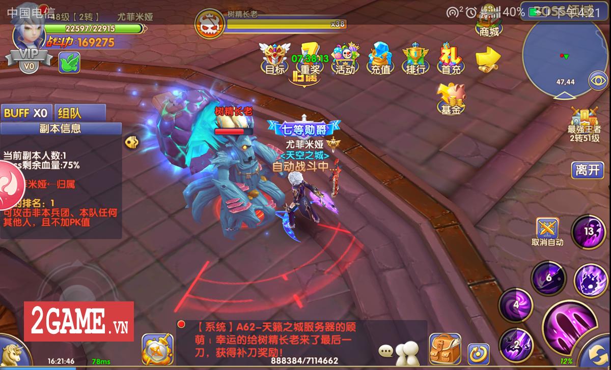 Liên Minh Bóng Tối - Game nhập vai hành động mới của SohaGame 0