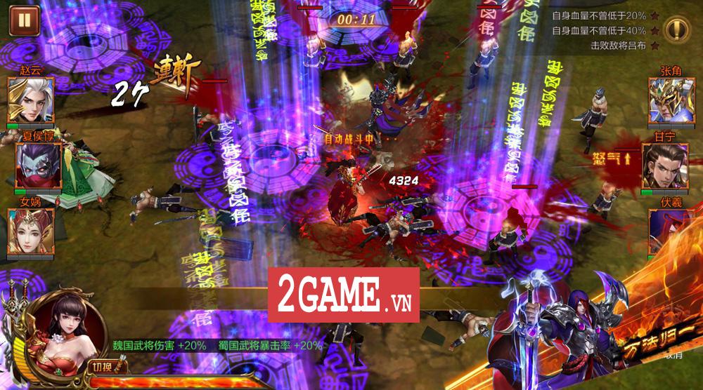 Siêu Thần Chiến Tướng - Game Tam Quốc PK máu lửa, điều khiển cực mới lạ đã cập bến Việt Nam 0