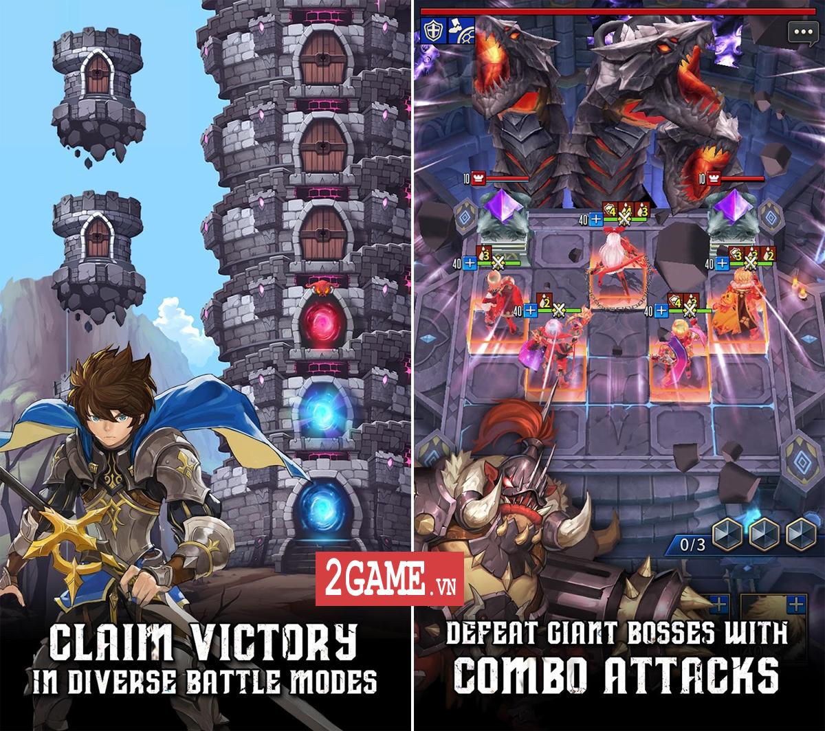 Chain Strike - Game mobile nhập vai đánh dàn trận theo ô cực hay sắp ra mắt toàn cầu 0