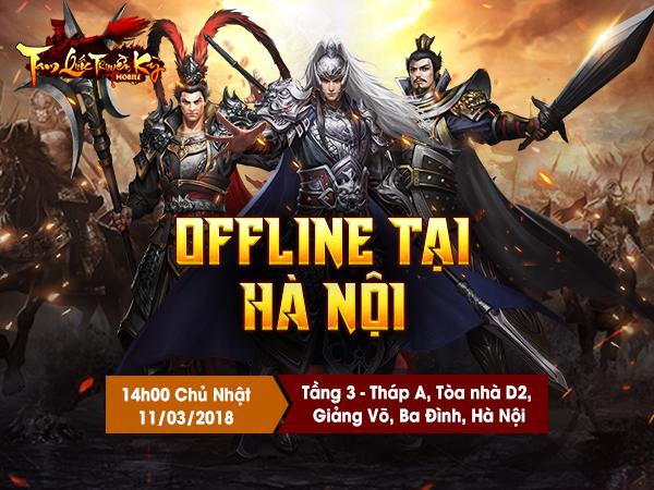 Đến dự offline game Tam Quốc Truyền Kỳ Mobile tại Hà Nội game thủ bất ngờ nhận được 1 triệu đồng 0