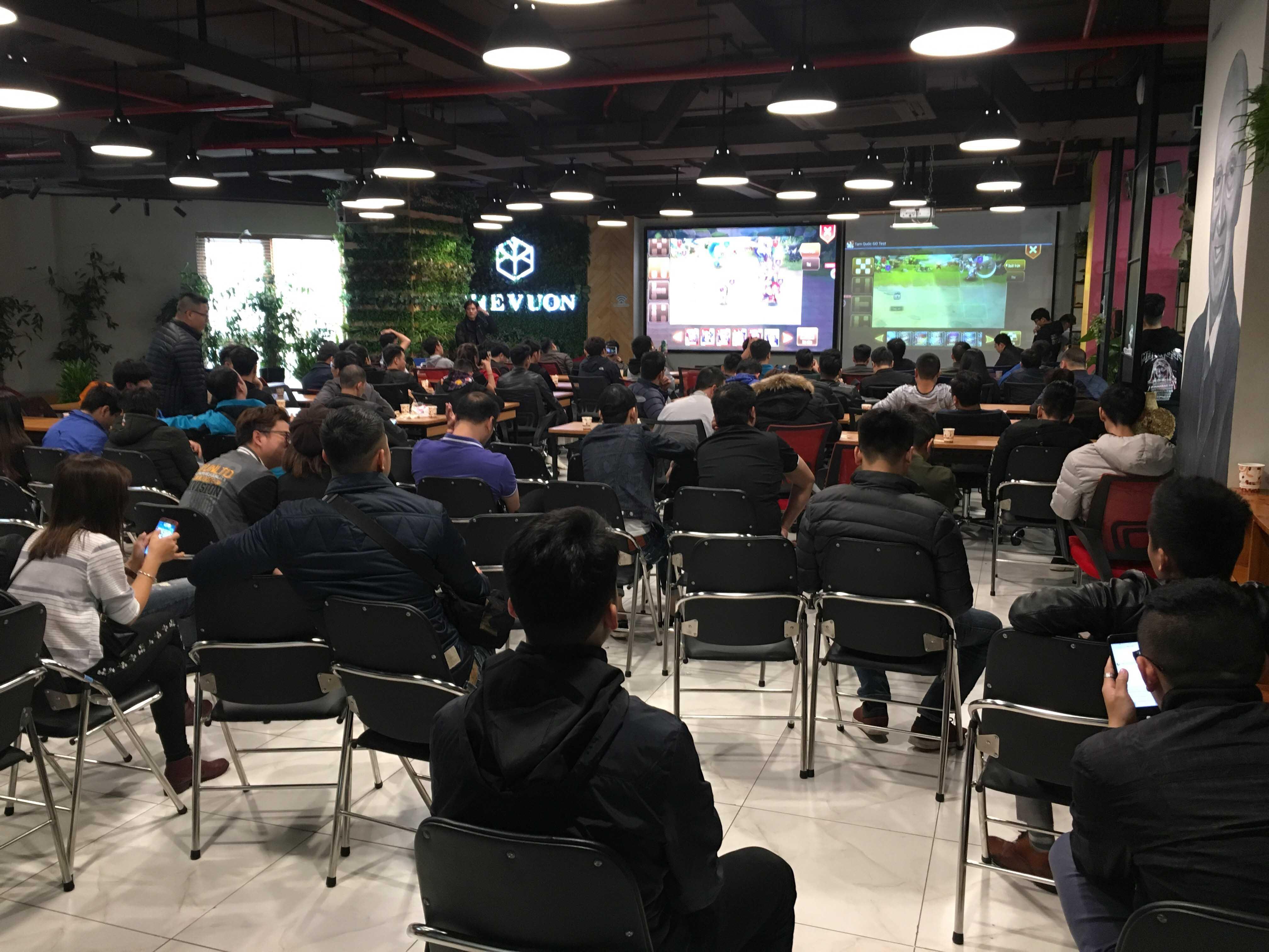Đến dự offline game Tam Quốc Truyền Kỳ Mobile tại Hà Nội game thủ bất ngờ nhận được 1 triệu đồng 3