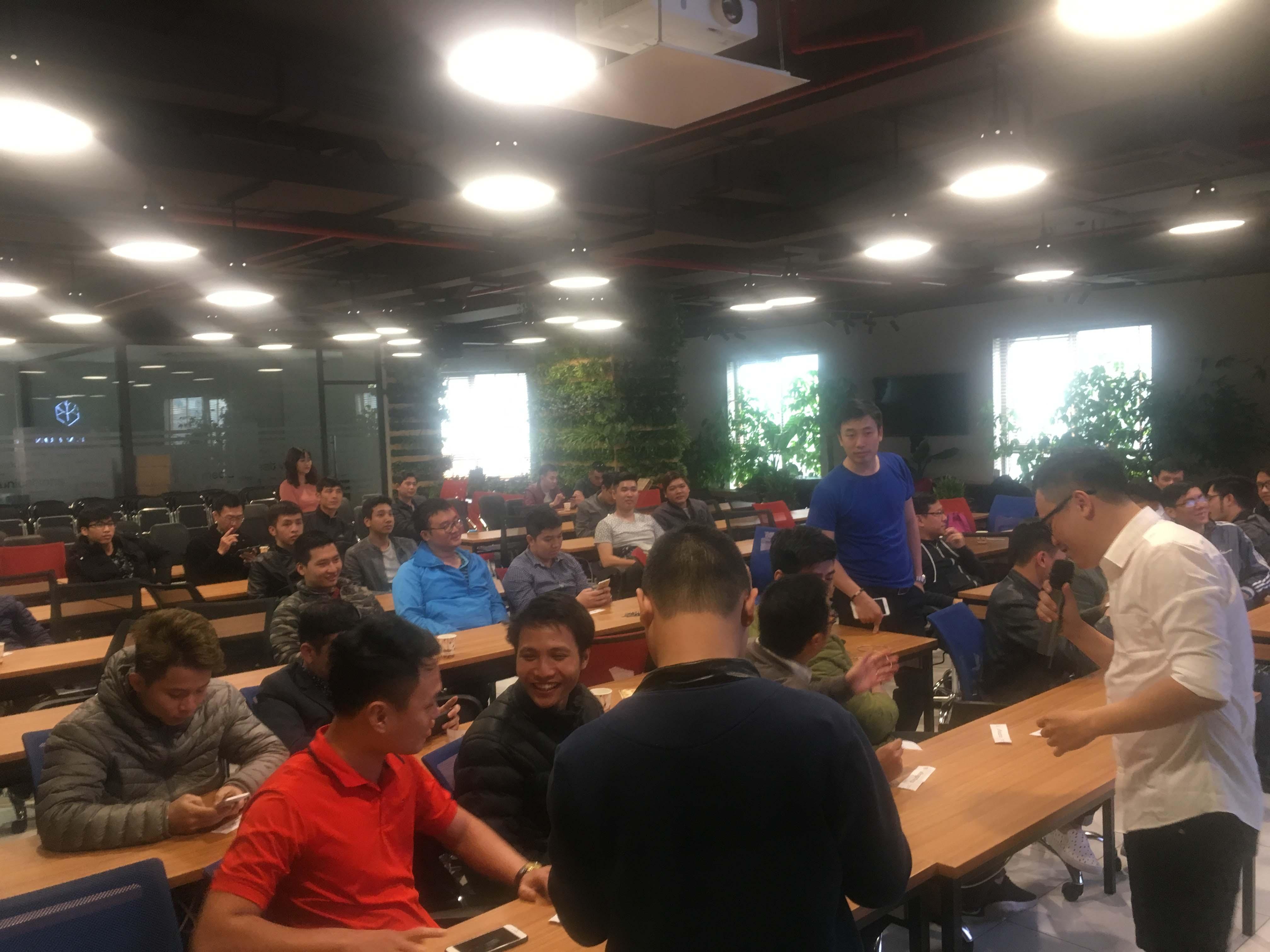 Đến dự offline game Tam Quốc Truyền Kỳ Mobile tại Hà Nội game thủ bất ngờ nhận được 1 triệu đồng 4