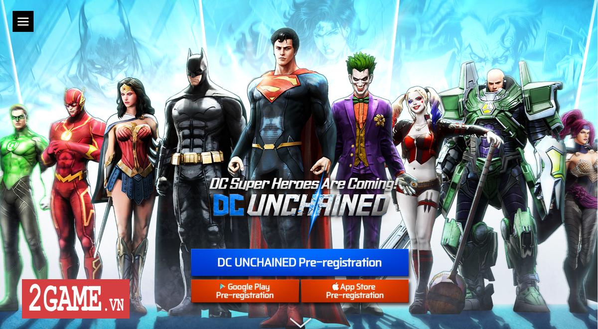 DC Unchained mobile xác nhận hỗ trợ game thủ đến từ Việt Nam vào chơi 0