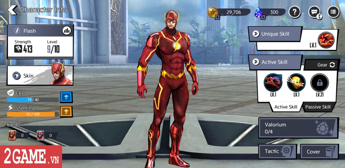 DC Unchained mobile xác nhận hỗ trợ game thủ đến từ Việt Nam vào chơi 2