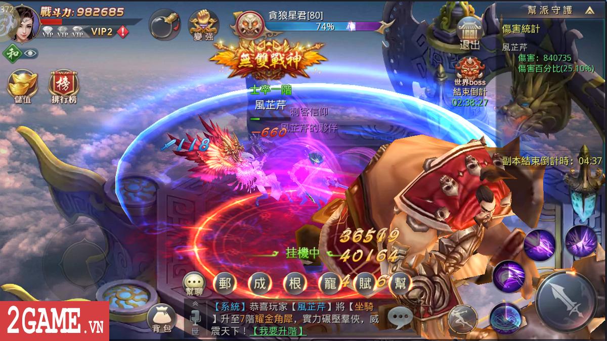 Ngạo Thiên Mobile - Game nhập vai Tiên võ hiệp thú vị nữa từ Gamota 4