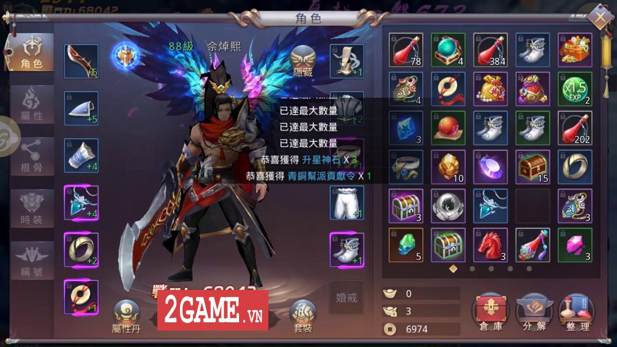 Ngạo Thiên Mobile - Game nhập vai Tiên võ hiệp thú vị nữa từ Gamota 5