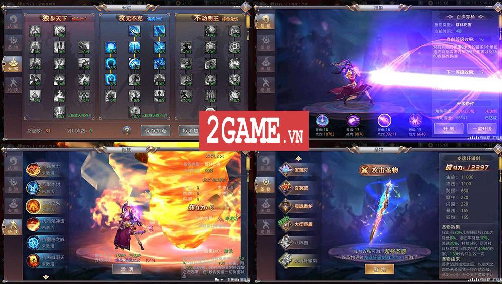 Ngạo Thiên Mobile - Game nhập vai Tiên võ hiệp thú vị nữa từ Gamota 6
