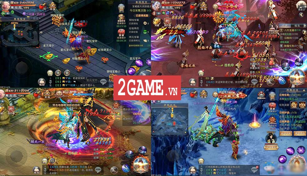 Ngạo Thiên Mobile - Game nhập vai Tiên võ hiệp thú vị nữa từ Gamota 7