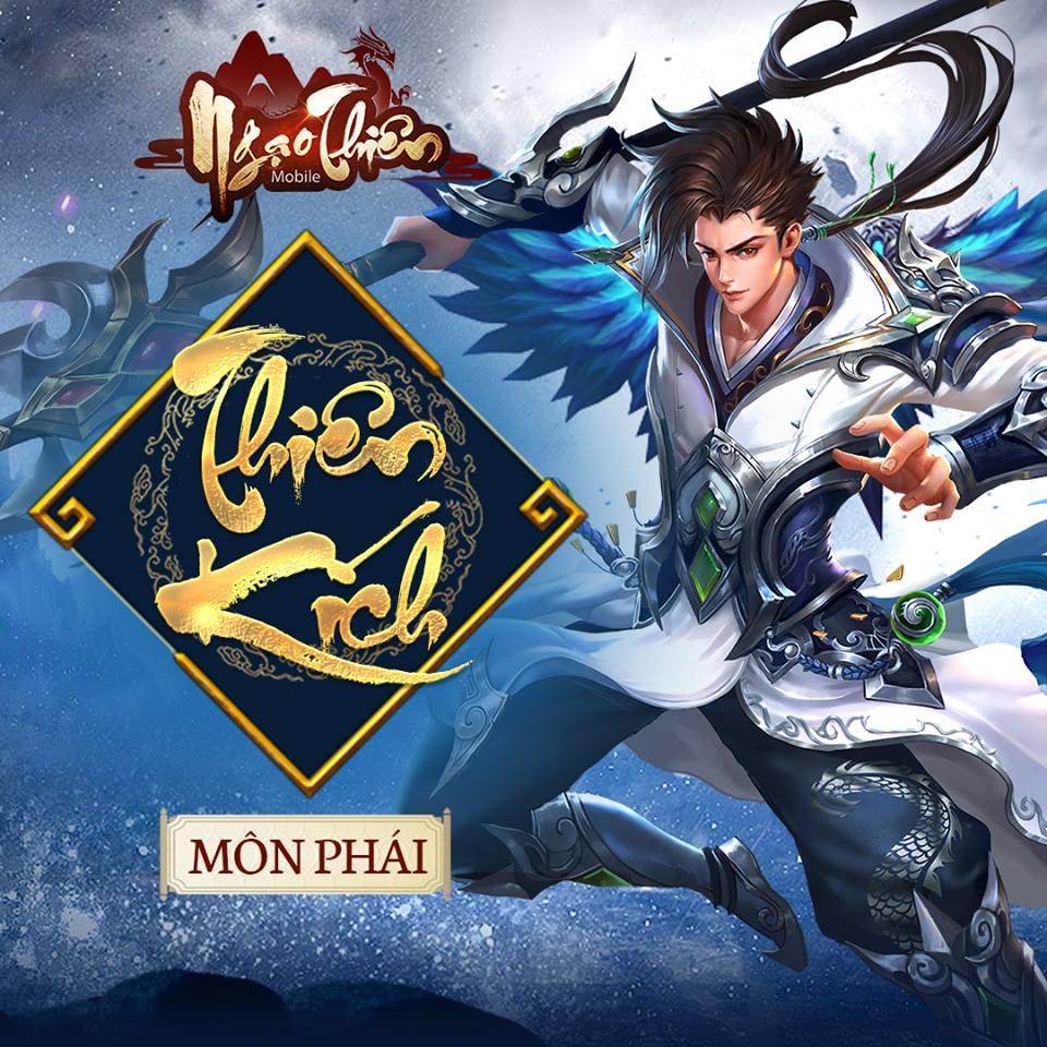 Cận cảnh Tam đại môn phái sẽ góp mặt trong game Ngạo Thiên Mobile 1
