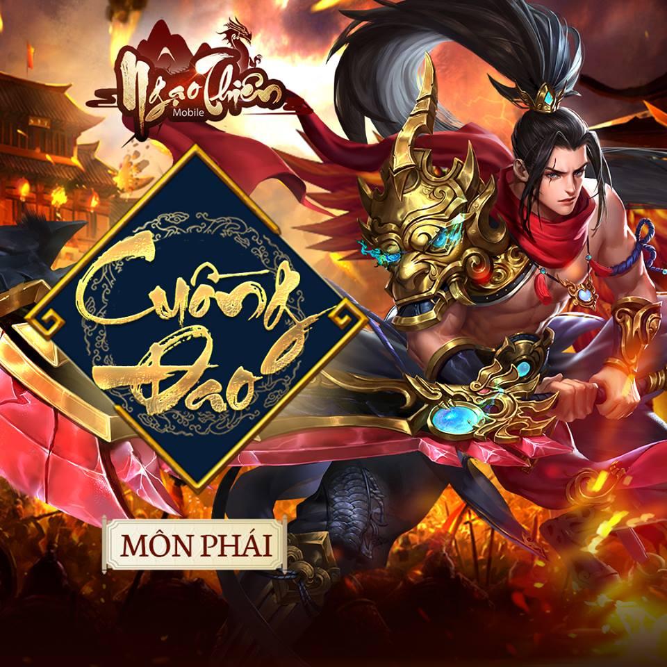 Cận cảnh Tam đại môn phái sẽ góp mặt trong game Ngạo Thiên Mobile 2
