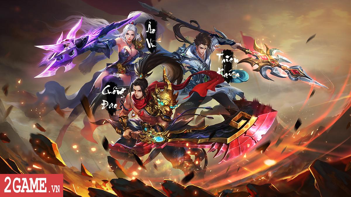 Cận cảnh Tam đại môn phái sẽ góp mặt trong game Ngạo Thiên Mobile 3