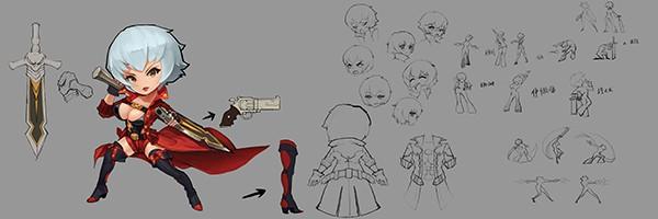Vào game Nữ Vương Nổi Loạn ngắm nhìn các nhân vật truyện tranh nổi tiếng trở thành gái đẹp! 12