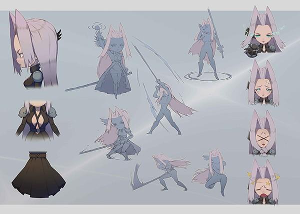 Vào game Nữ Vương Nổi Loạn ngắm nhìn các nhân vật truyện tranh nổi tiếng trở thành gái đẹp! 9