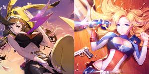 Vào game Nữ Vương Nổi Loạn ngắm nhìn các nhân vật truyện tranh nổi tiếng trở thành gái đẹp!
