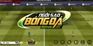 Cùng soi ngoại hình cầu thủ trong 360mobi Ngôi Sao Bóng Đá Mobakasa xem giống thật cỡ nào!