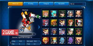 Hesman Legend là game Việt 100% từ nội dung cho đến hình ảnh