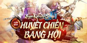 Game nhập vai kiếm hiệp chơi cài đặt trên PC Ngạo Kiếm Vô Song 2 khởi tranh giải đấu lớn