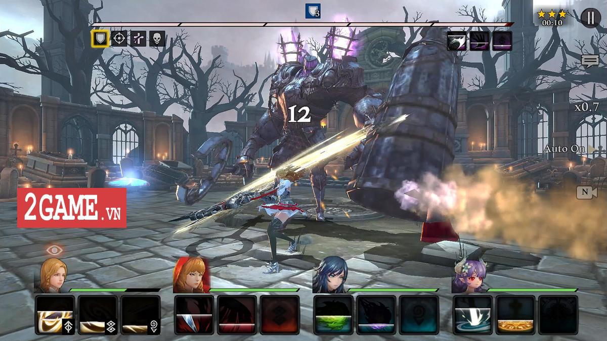 Trải nghiệm Heir Of Light Mobile: Đồ họa bắt mắt, lối chơi nhập vai chiến thuật hay tuyệt! 0