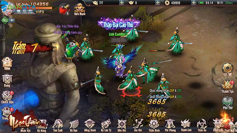 Ngạo Thiên Mobile đã hoàn tất giai đoạn chuẩn bị, sẵn sàng đến tay người chơi vào tháng 4 tới 3