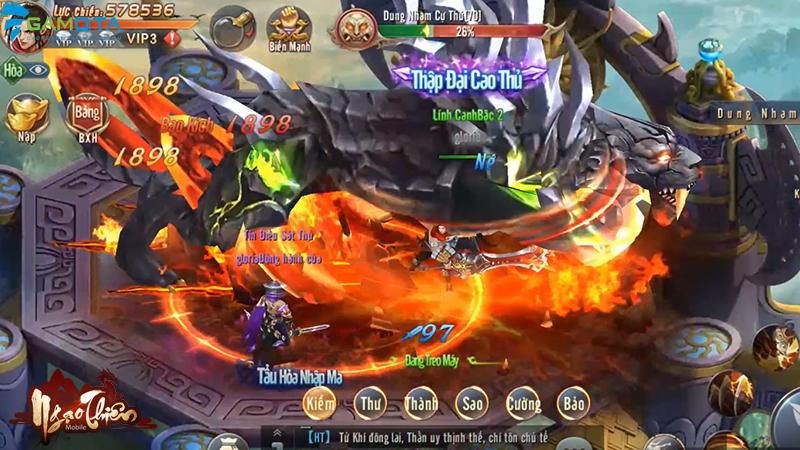 Ngạo Thiên Mobile đã hoàn tất giai đoạn chuẩn bị, sẵn sàng đến tay người chơi vào tháng 4 tới 4