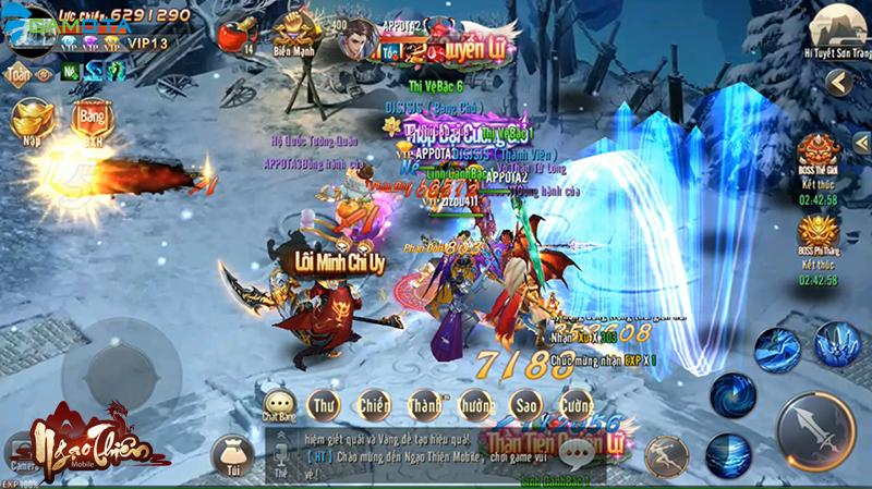 Ngạo Thiên Mobile đã hoàn tất giai đoạn chuẩn bị, sẵn sàng đến tay người chơi vào tháng 4 tới 6