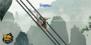 Hiệu ứng kĩ năng chiến đấu trong webgame Kiếm Khách VNG hoành tráng như phim chưởng