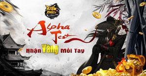 Webgame nhập vai PK cực đã Kiếm Khách VNG công bố mở Alpha Test, tặng người chơi Vàng thả ga