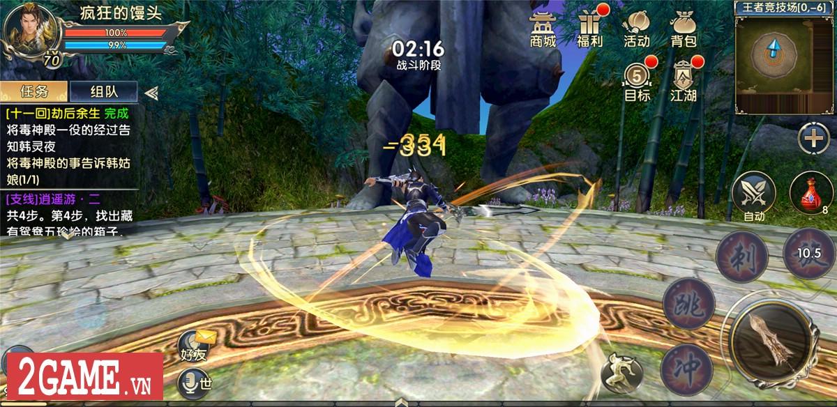 360mobi Kiếm Khách VNG mới chỉ cho người dùng Android chơi thử trước 2