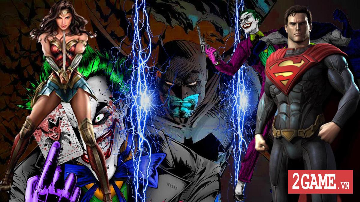Diện kiến các siêu anh hùng DC qua game mobile DC Unchained 0