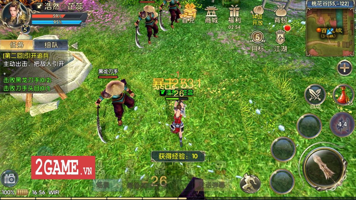 Chơi thử 360mobi Kiếm Khách VNG: Dân game kiếm hiệp chắc chắn sẽ thích mê!!! 5