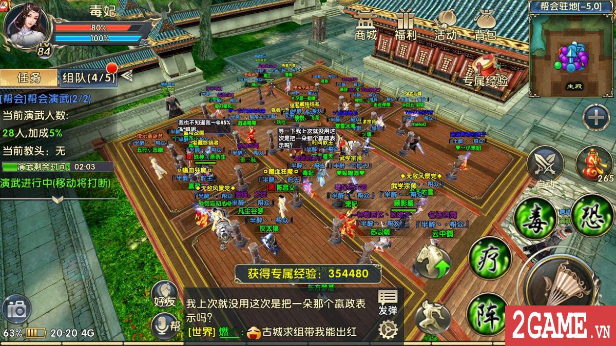 Chơi thử 360mobi Kiếm Khách VNG: Dân game kiếm hiệp chắc chắn sẽ thích mê!!! 7