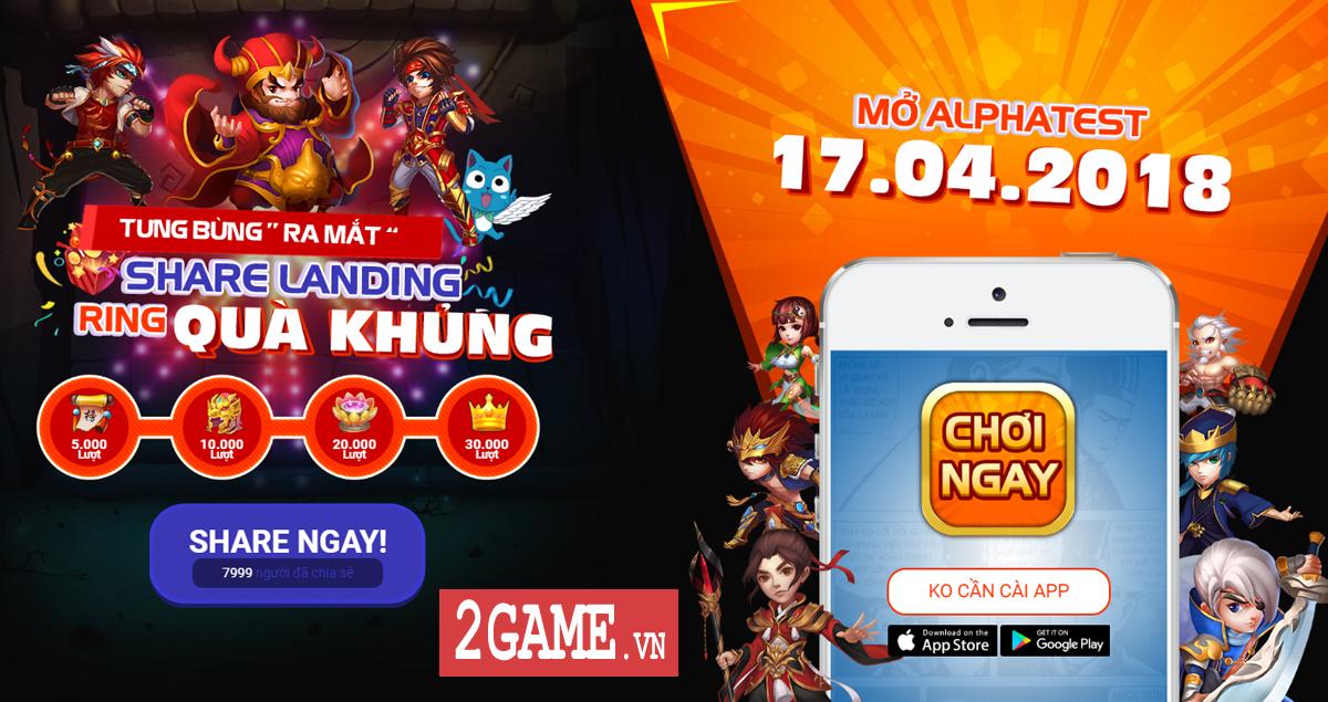 3Q H5 - Game Tam Quốc đấu thẻ tướng chơi đa nền tảng cập bến Việt Nam 3