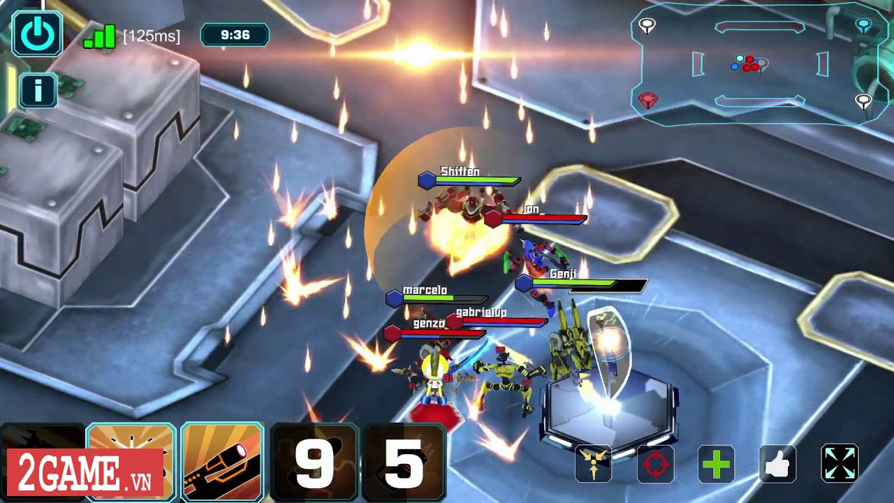 Fhacktions Mobile – Game MOBA lột tả về thế giới hacker tương lai 1