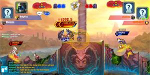 Game thủ Gunbound M hào hứng khám phá tính năng mới trong đợt Alpha Test 2