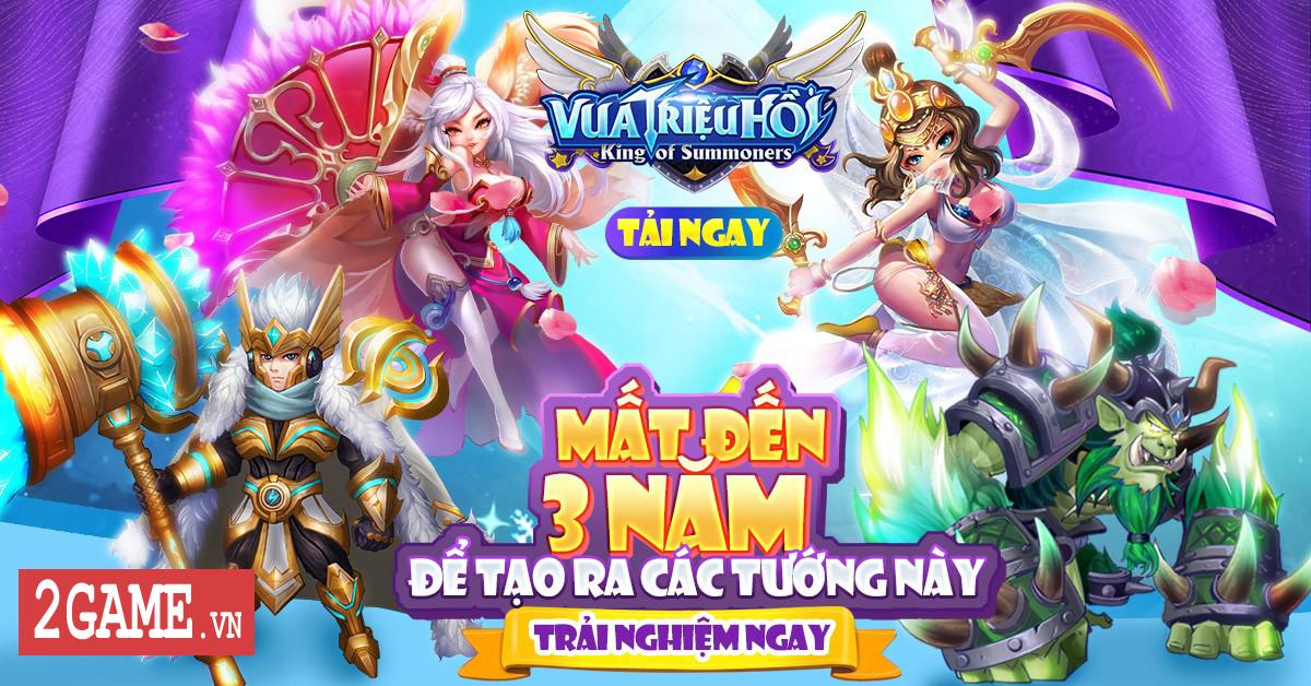 Game mobile Vua Triệu Hồi - King of Summoners của Funtap có gì hấp dẫn?! 1