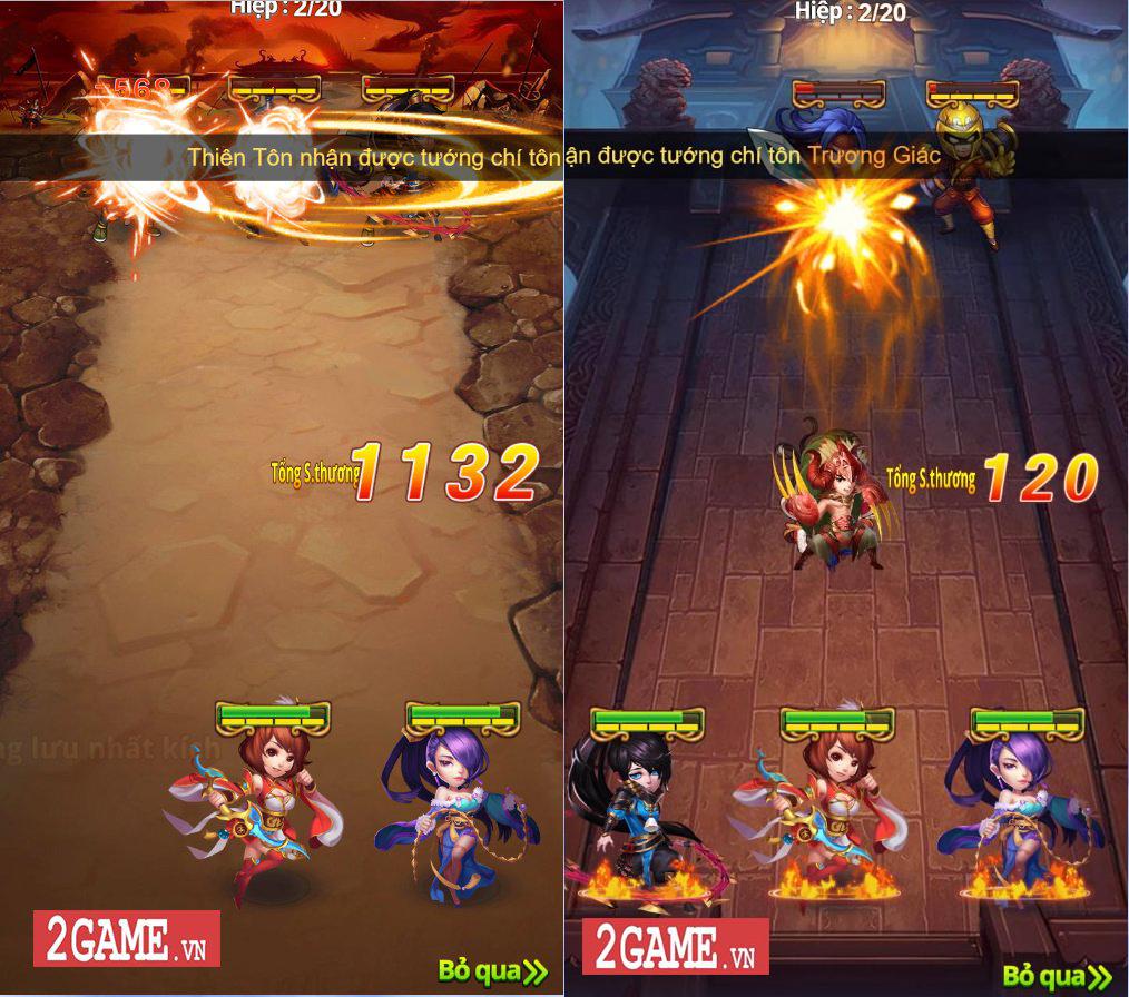 Trải nghiệm 3Q H5 - Đồ họa vui mắt, lối chơi tập trung vào chiến thuật đội hình 4