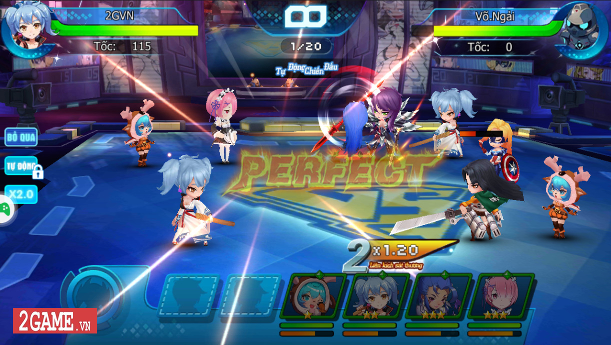 Trải nghiệm Nữ Vương Nổi Loạn: Game chính hiệu dành cho fan anime là đây chứ đâu! 13