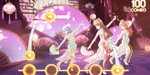 Zing Dance Mobile kế thừa và phát triển nhiều tính năng lôi cuốn từ bản PC
