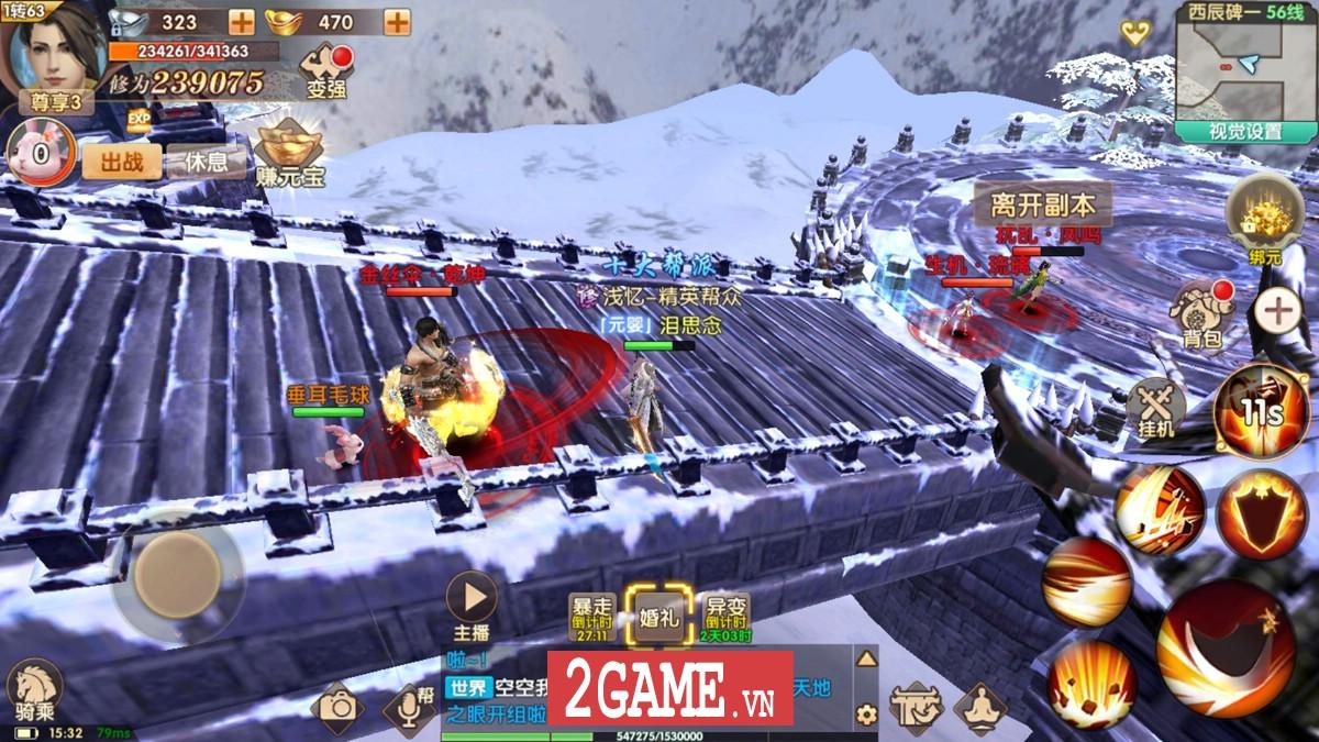 Top 8 game nhập vai có lối chơi gần giống Võ Lâm Truyền Kỳ Mobile nhất 6