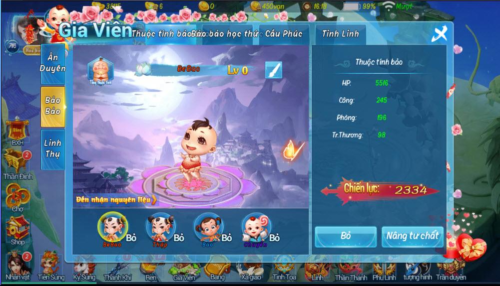 Chuyện không tưởng: Cứ 1 cặp game thủ Phi Tiên Mobile sẽ sinh 20 đứa con 4