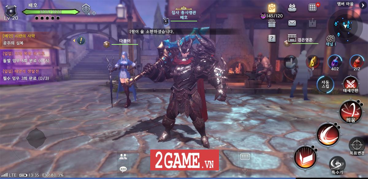 Royal Blood - Game nhập vai hành động đẳng cấp đến từ Hàn Quốc sắp ra mắt bản tiếng Anh 3