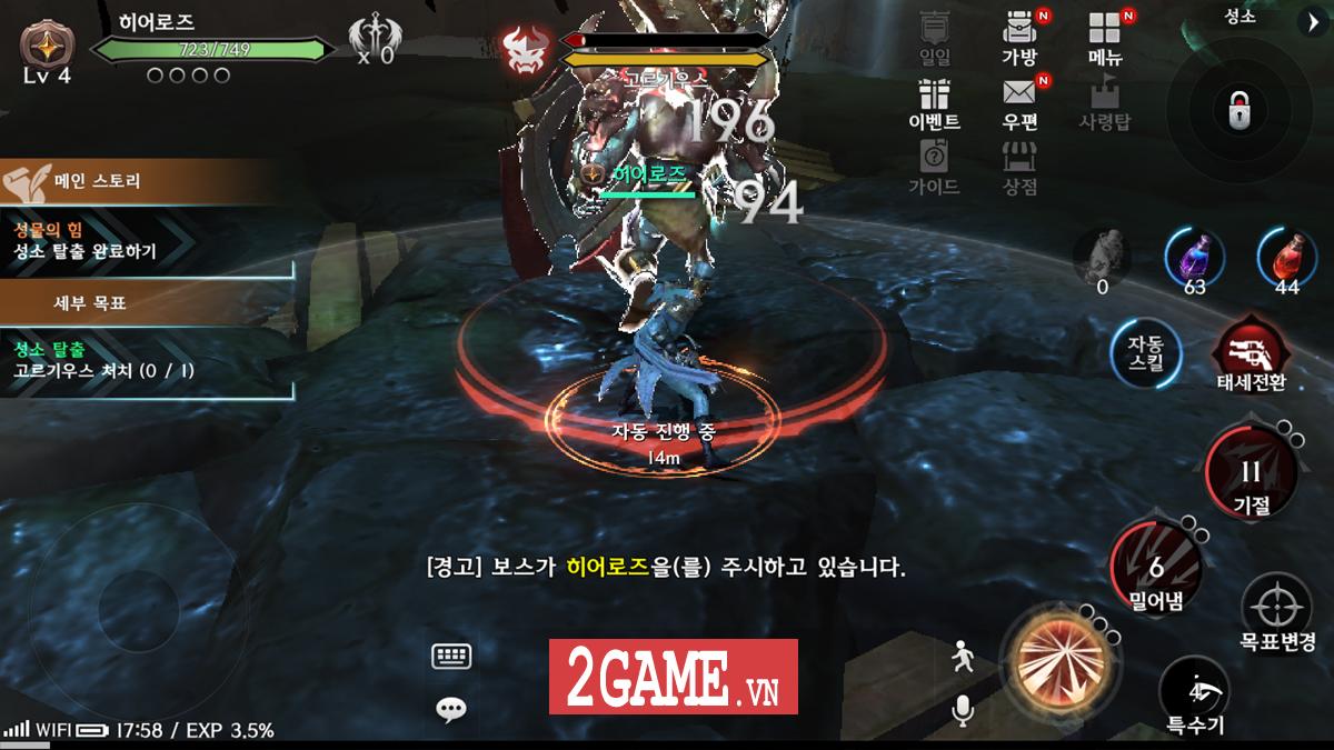 Royal Blood - Game nhập vai hành động đẳng cấp đến từ Hàn Quốc sắp ra mắt bản tiếng Anh 5