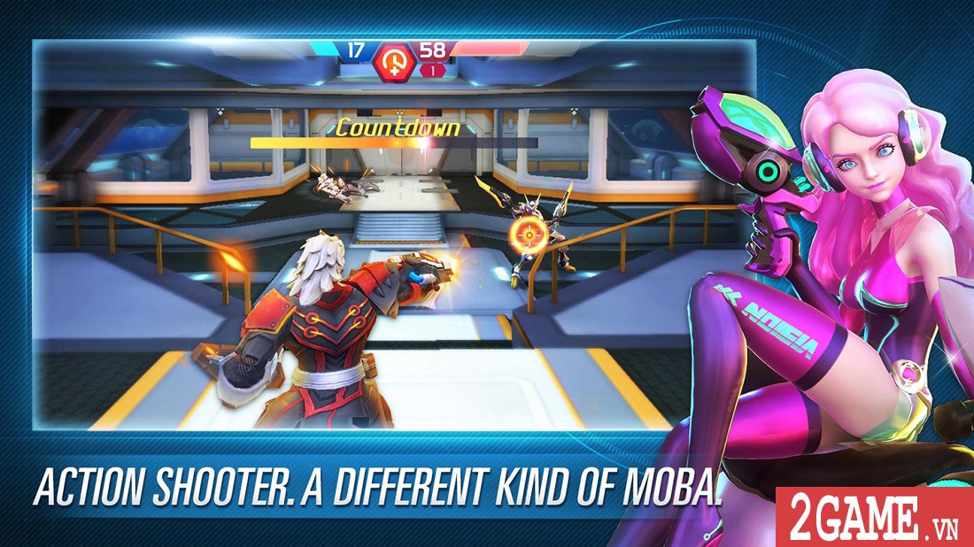 Mobile Battleground: Frontline - Game bắn súng MOBA sở hữu hệ thống điều khiển sáng tạo 0
