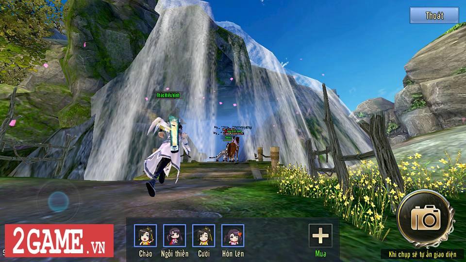 Mỗi bước đi trong 360mobi Kiếm Khách VNG người chơi lại được lắng nghe một câu chuyện võ hiệp thú vị 1