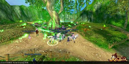 Điểm mặt các chiến trường rực lửa trong 360mobi Kiếm Khách VNG