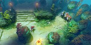 DotA 2 sắp trình làng chế độ chơi sinh tồn mới mang tên The Underhollow