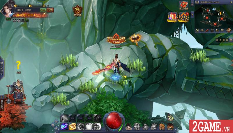 Webgame Bá Đao 360Game - Game kiếm hiệp PK thả ga cập bến Việt Nam 2