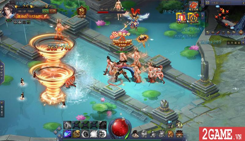 Webgame Bá Đao 360Game - Game kiếm hiệp PK thả ga cập bến Việt Nam 4