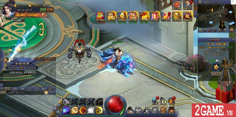 Webgame Bá Đao 360Game - Game kiếm hiệp PK thả ga cập bến Việt Nam 13